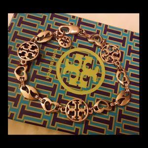 New Tory Burch Heart Charm Bracelet!